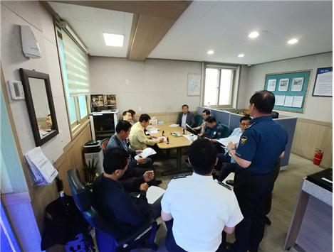 고흥경찰, 교통사망사고 대책회의 실시