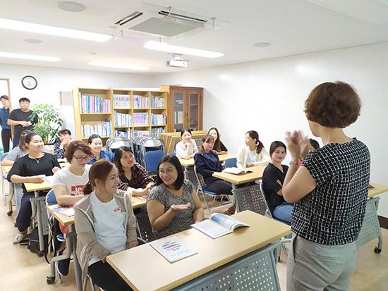 고흥군 다문화가족, 민주주의 대한민국의 근간인 선거 체험